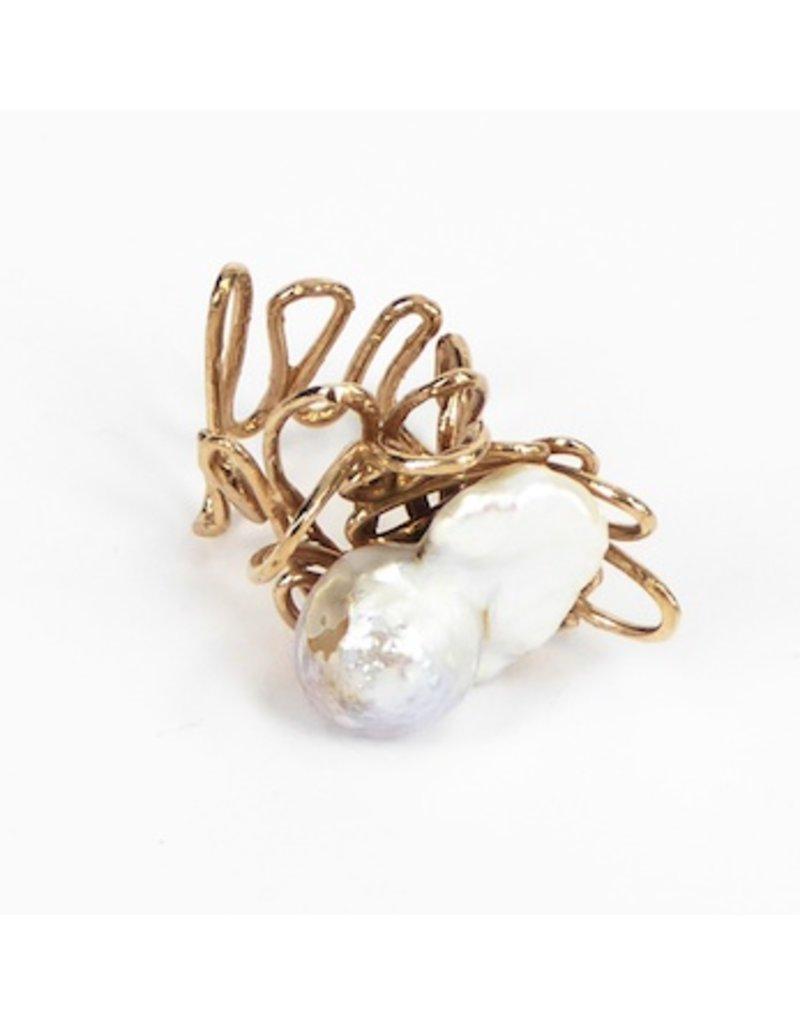 Iron by Miriam Nori ABISSI large pearl R