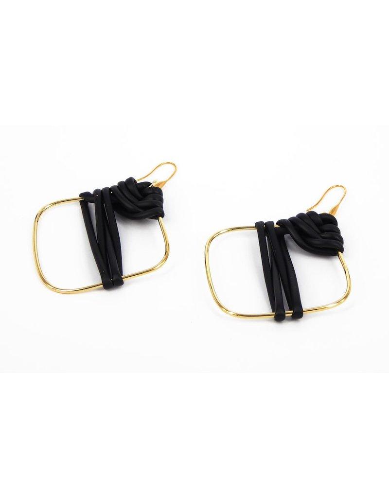 Iron by Miriam Nori Brass PVC wrapped E