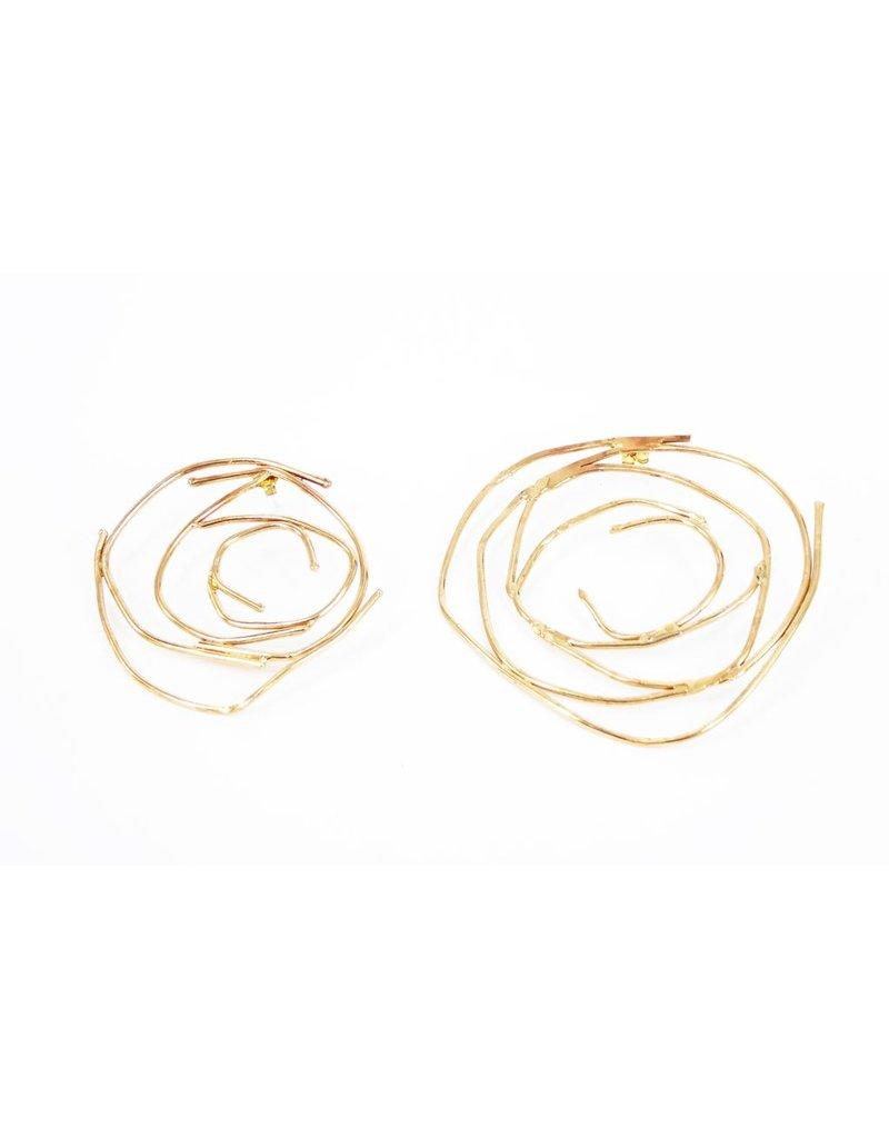 Iron by Miriam Nori Asymetric concentric circle E