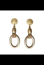 Carme Anglada Oval gold Pendant E