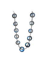 Infra BOTTON19 1 strand ring transparent in N