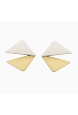 Aines Triangle silver gold open E