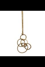 Carme Anglada Irregular loop long pendant N