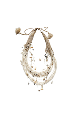 Kleopatra Multi string shell natural N