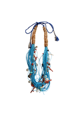 Kleopatra Multi string blue coral N