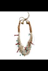 Kleopatra Multi string white coral N