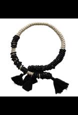 Kleopatra Wrap black pon pon N
