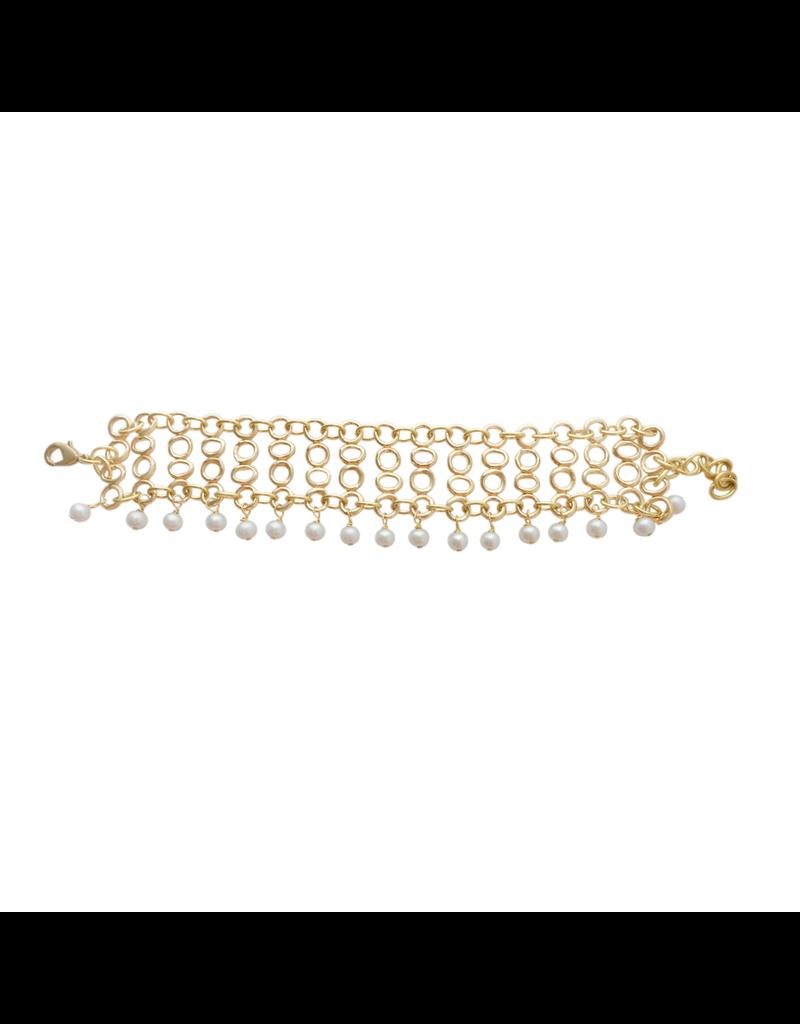 Iron by Miriam Nori Chain with pearl B