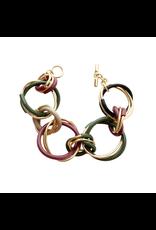 Iron by Miriam Nori Big smalll circle interlock multicolor B