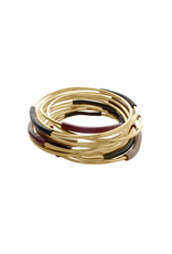 Iron by Miriam Nori Multicolor PVC brass B