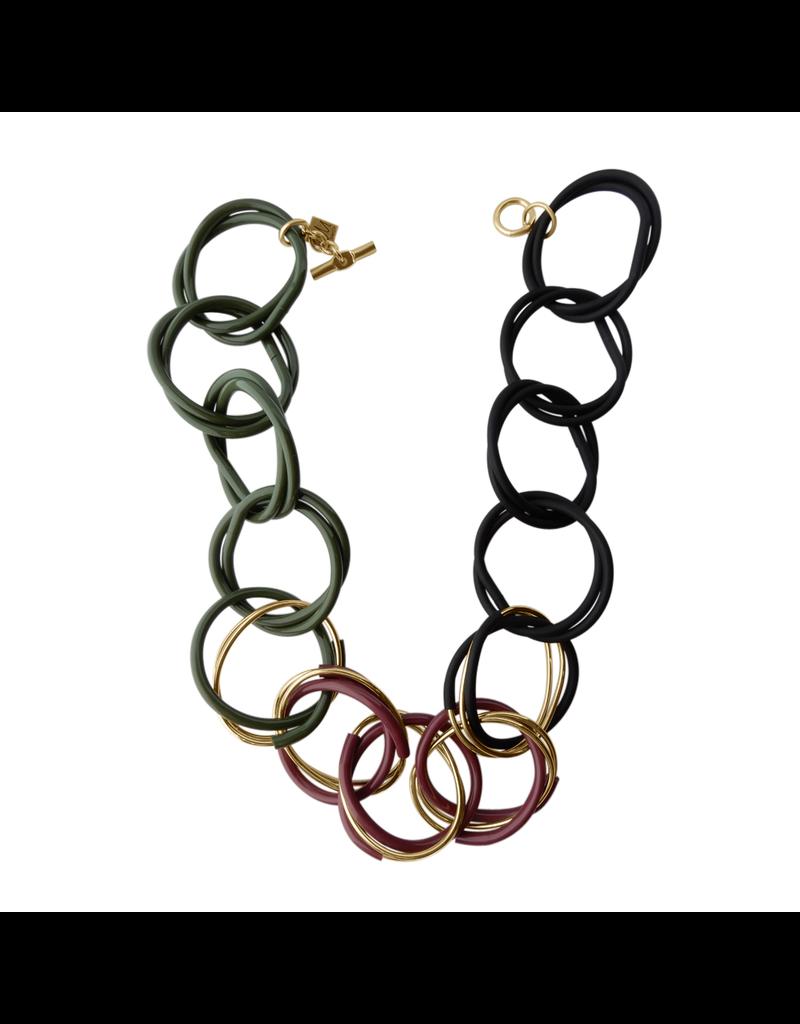 Iron by Miriam Nori Circle interlock multicolor N