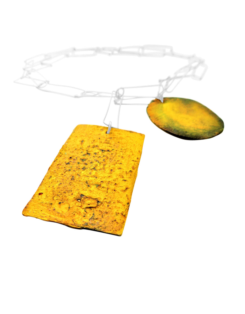Dora Haralambaki SQUARE CIRCLE rectangle chain N