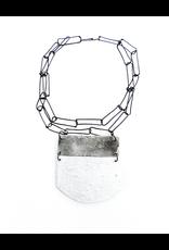 Dora Haralambaki TWO element sjort square chain N
