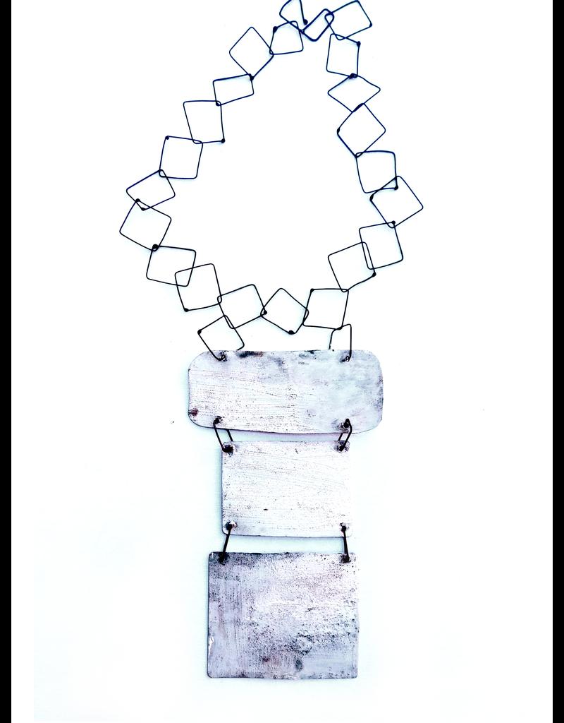 Dora Haralambaki THREE SQUARE chain N