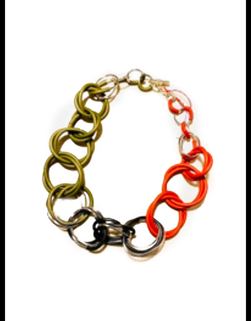 Iron by Miriam Nori Tri colour loop N