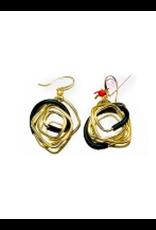 Iron by Miriam Nori Small squares PVC brass E
