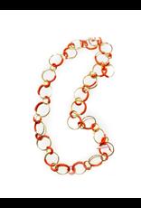 Iron by Miriam Nori Multi loop PVC brass N