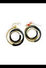 Iron by Miriam Nori Spiral plate PVC brass E