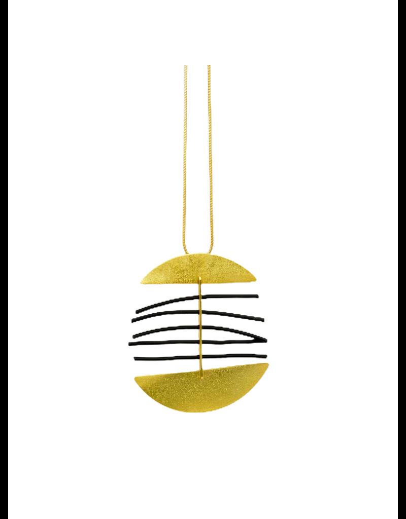 Character Jewels SPINE 2 half circle PVC N