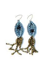 Kleopatra Gold blue squid E