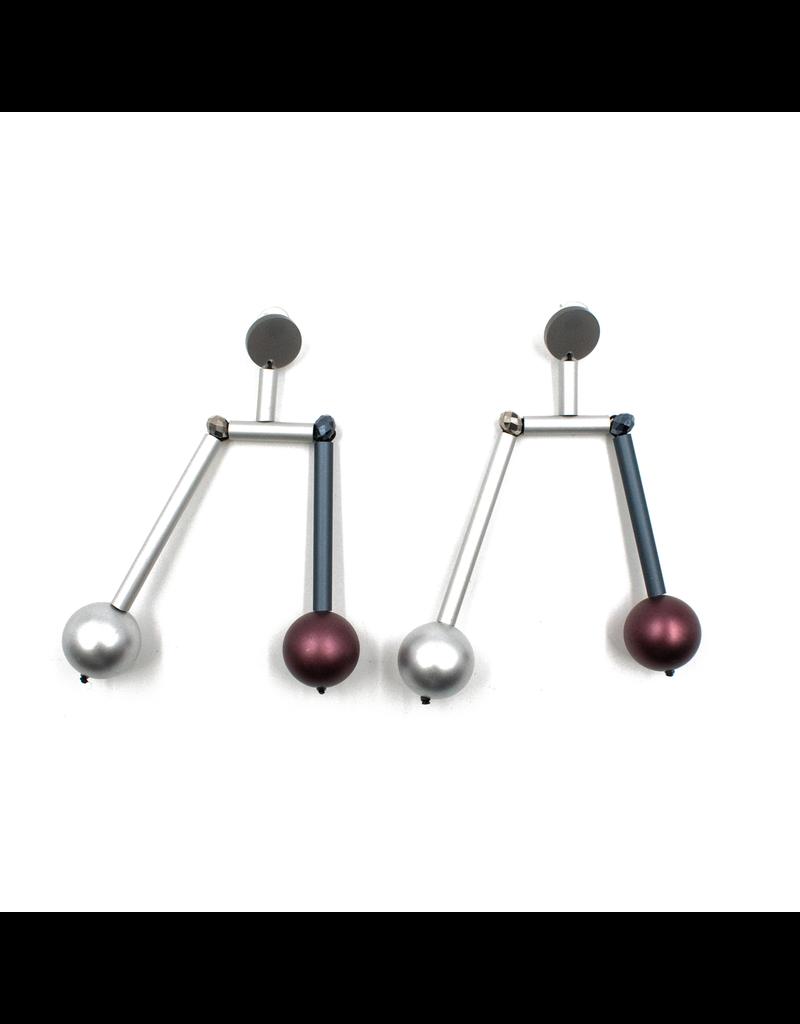Christina Brampti Aluminum hanging beads E