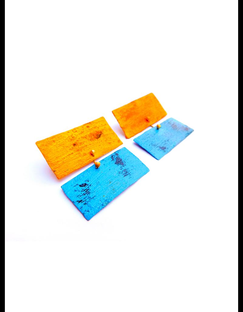 Dora Haralambaki TWO color rectangle E
