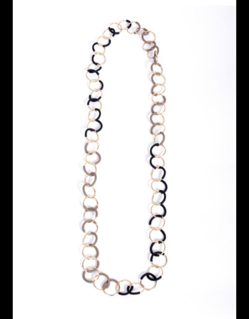 Iron by Miriam Nori Circle links long PVC N