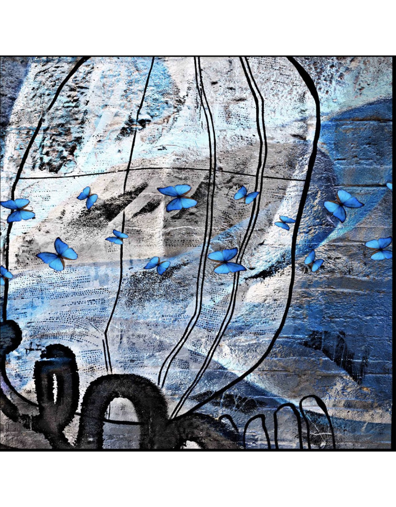 Isabelle Gougenheim BLUE BUTTERFLY