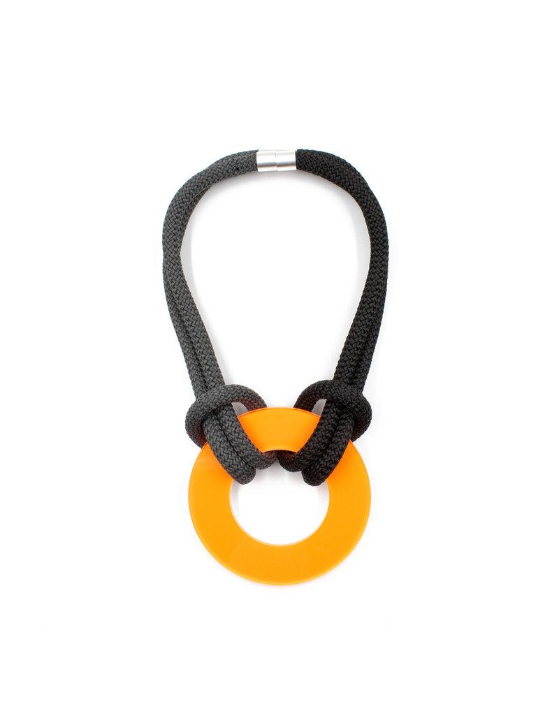 Christina Brampti Climb cord Plexiglas circle short N