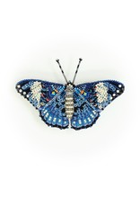 Trovelore BLUE CALICO CRACKER BUTTERFLY BR