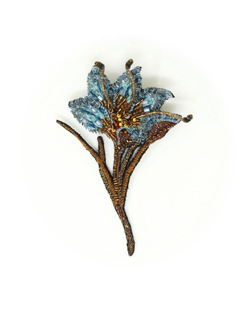 Trovelore BLUE SAFFRON FLOWER BR