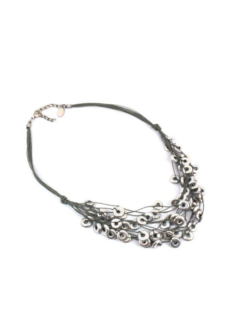 Carme Anglada Multi small metal loop N