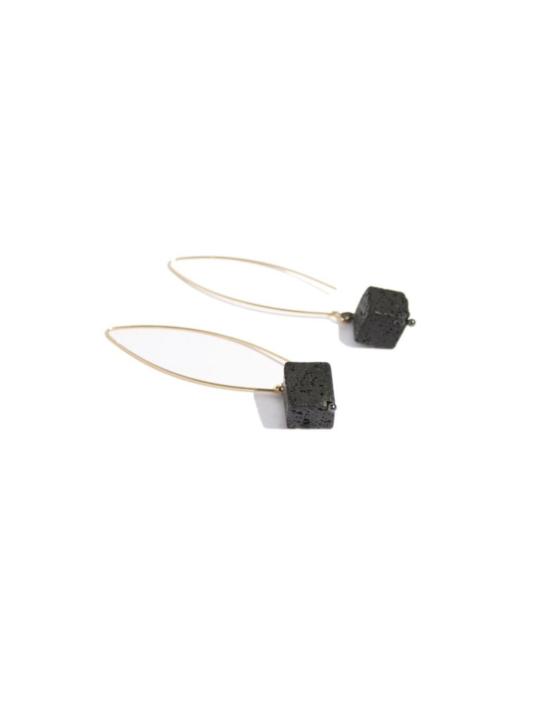 Industrial Jewellery CUBE drop E