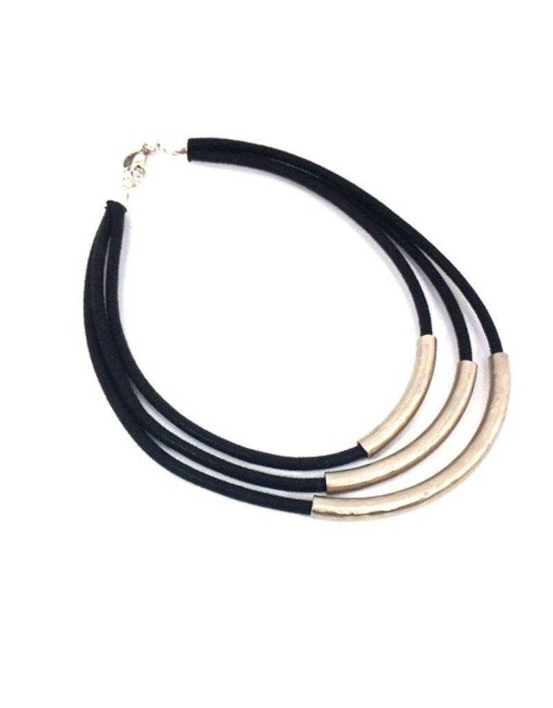 Carme Anglada Metal tubes 3 strand N