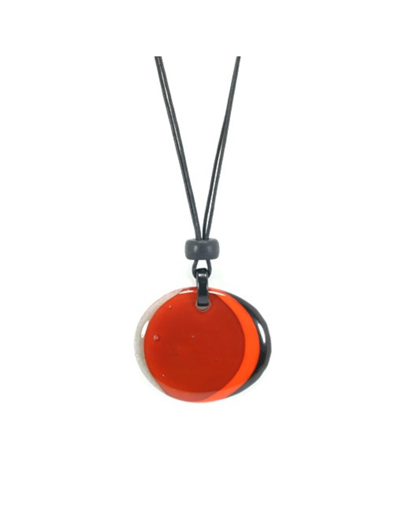 Jolly SNODO C 2 two colour oval pendant N