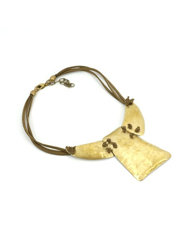Carme Anglada Short three metal pendant N