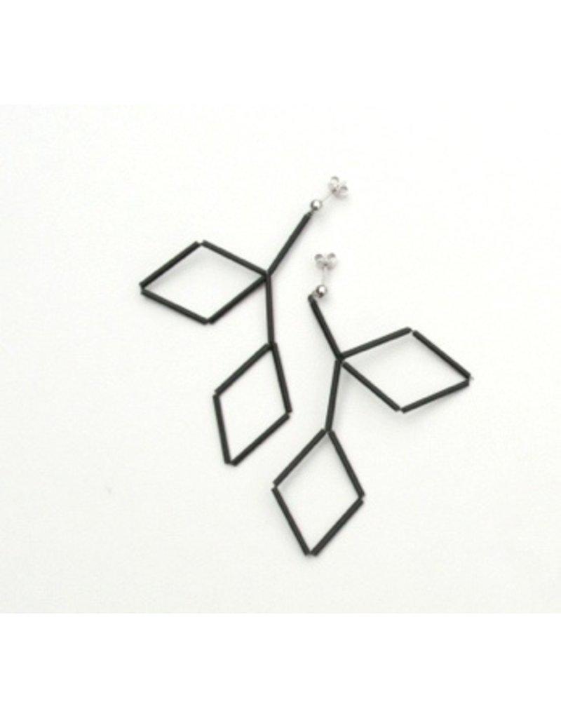 Materia Design CRYSTAL geometric glass tube E