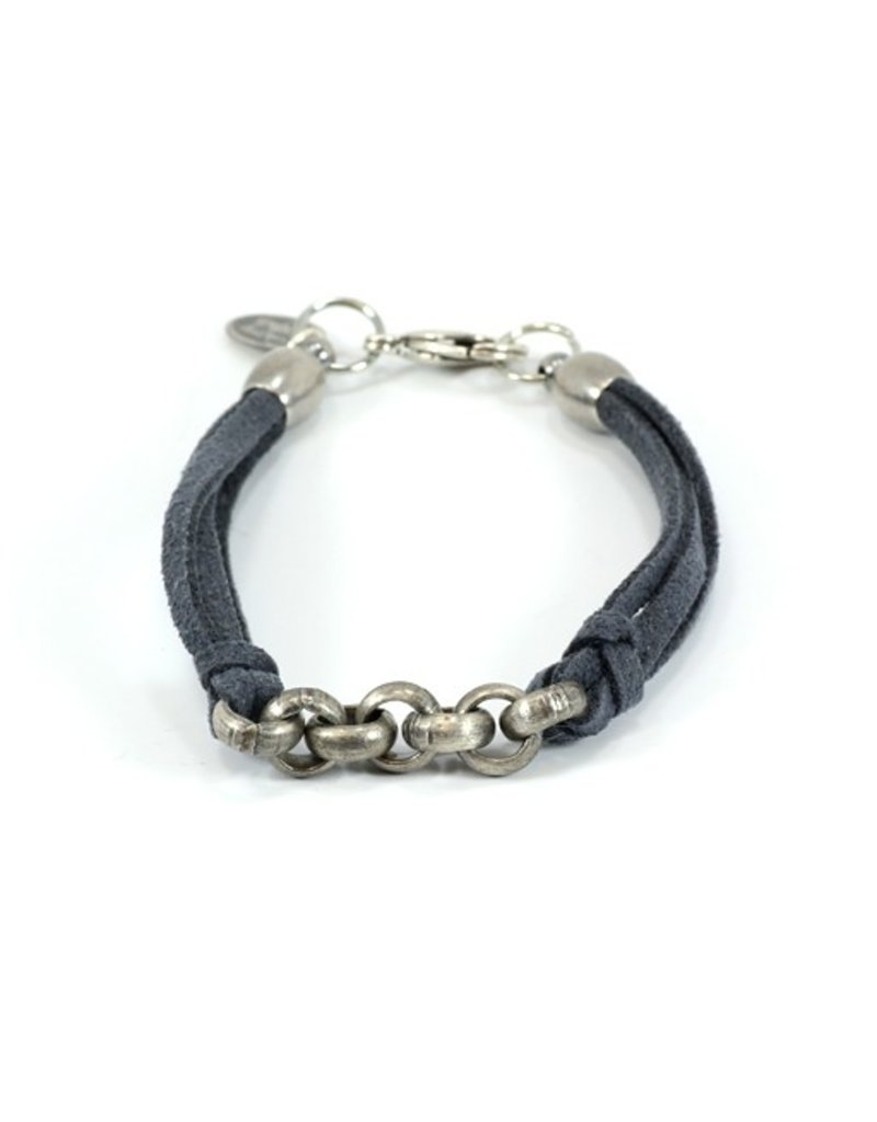 Carme Anglada Leather chain B