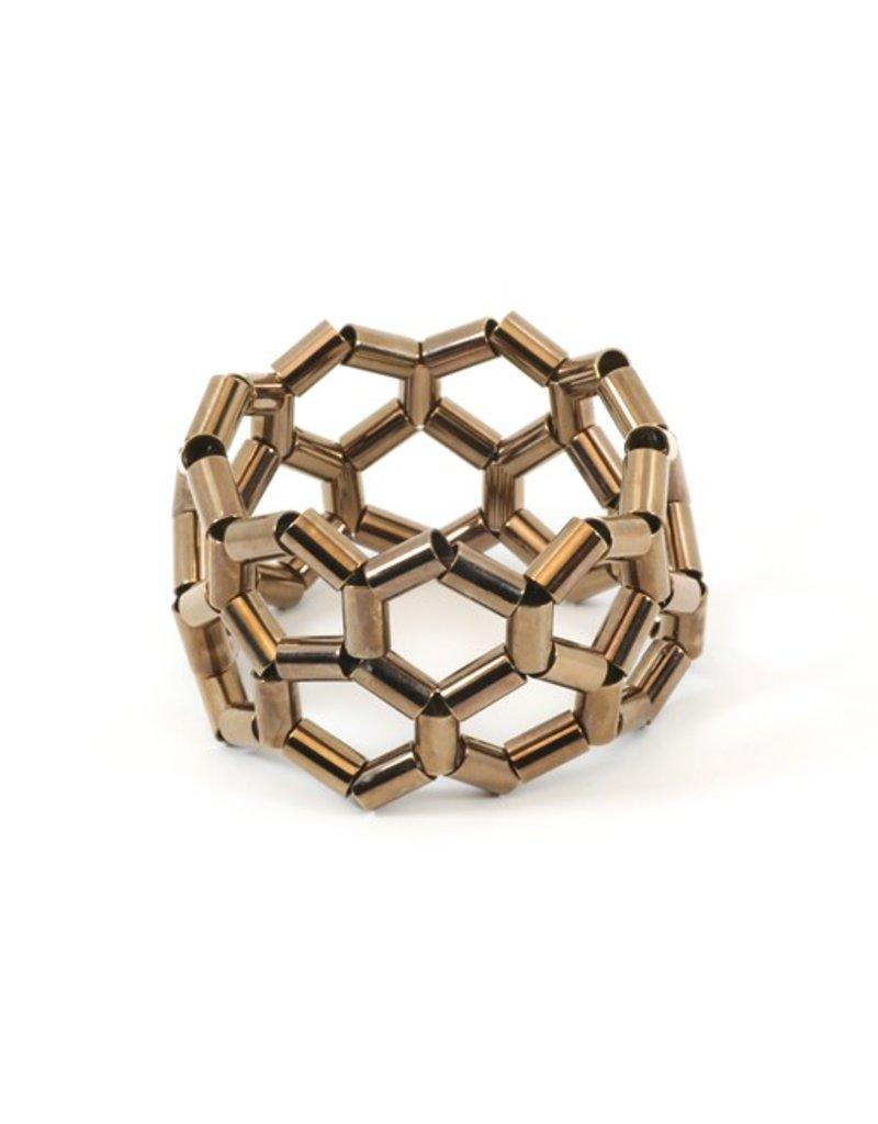 Materia Design GRECA 2 galvanised brass tube B