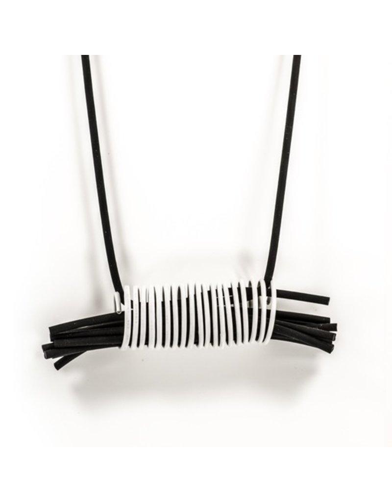 Marija Bajovska Short rubber multi strand coil N
