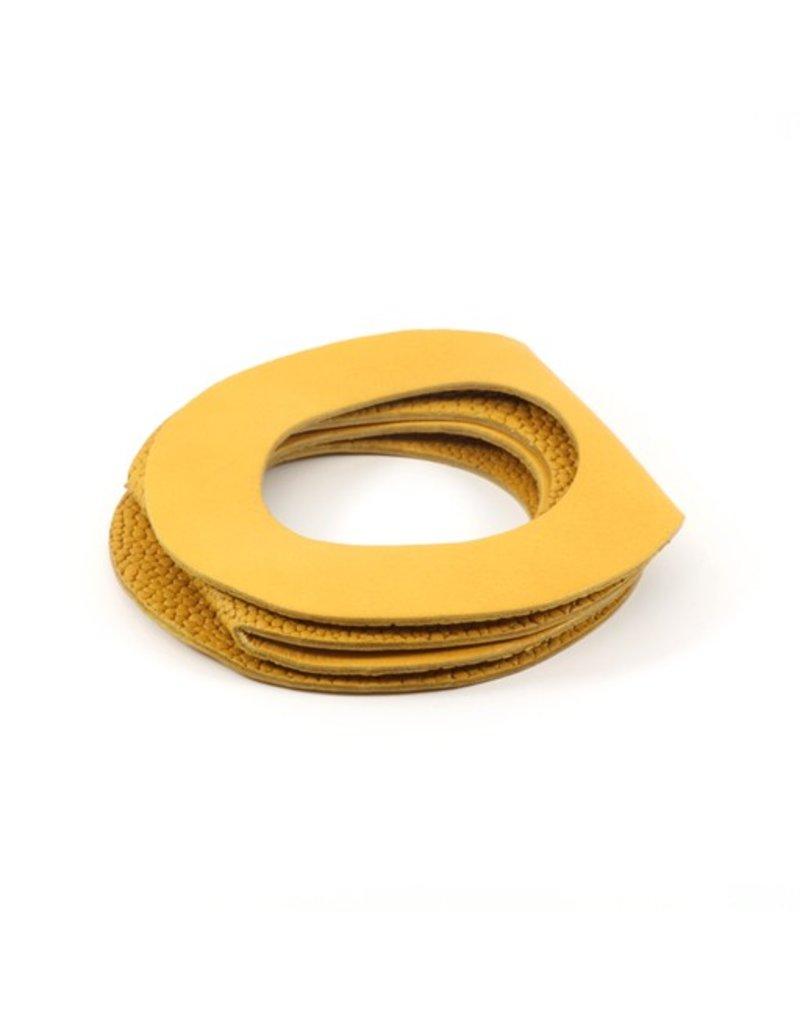 Materia Design OCCHI circle leather B
