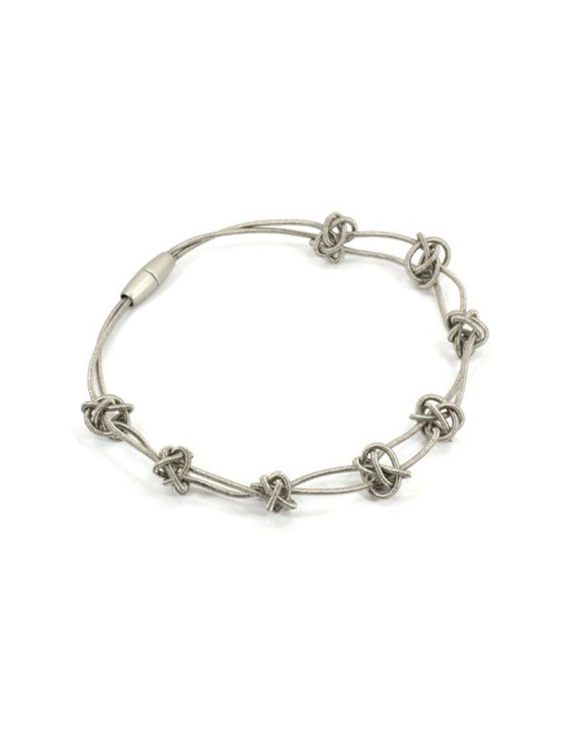 Materia Design DIAMANTE ACCIAIO steel knot short N