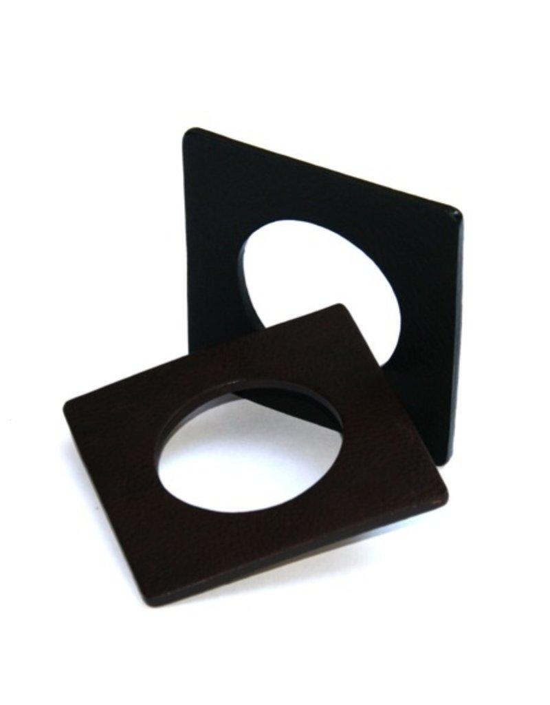 Materia Design QUADRATO square leather B