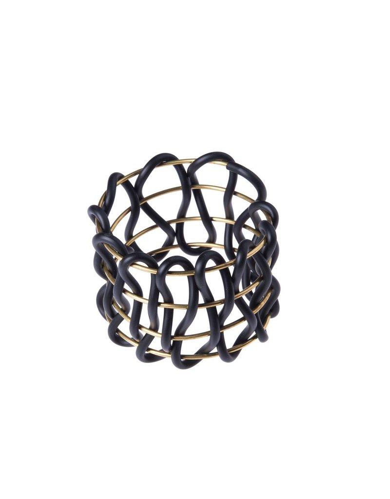Iron by Miriam Nori GEOMETRIE brass PVC B
