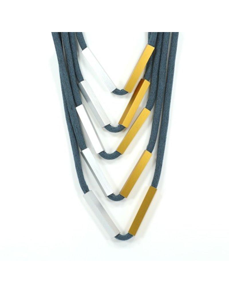 Christina Brampti 5 layer rectangle tube N