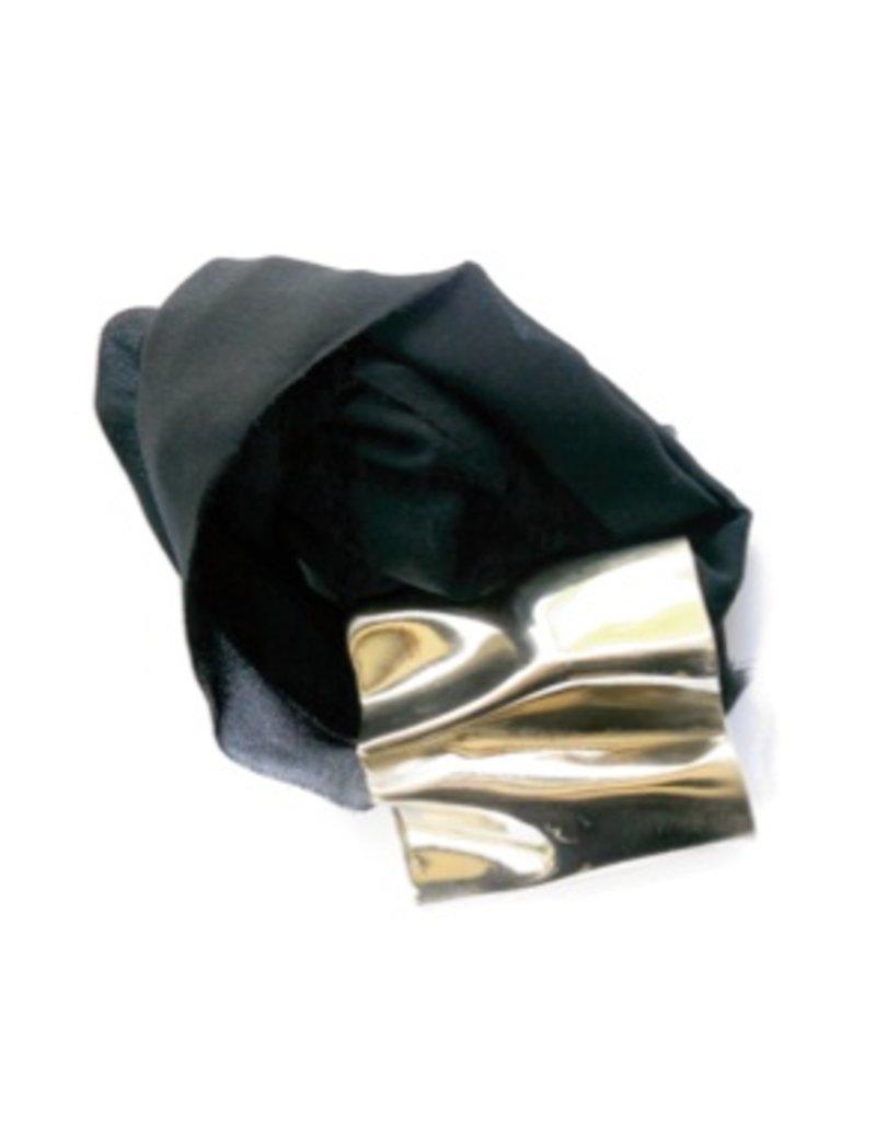 Iron by Miriam Nori BOX brass silk large pendant N