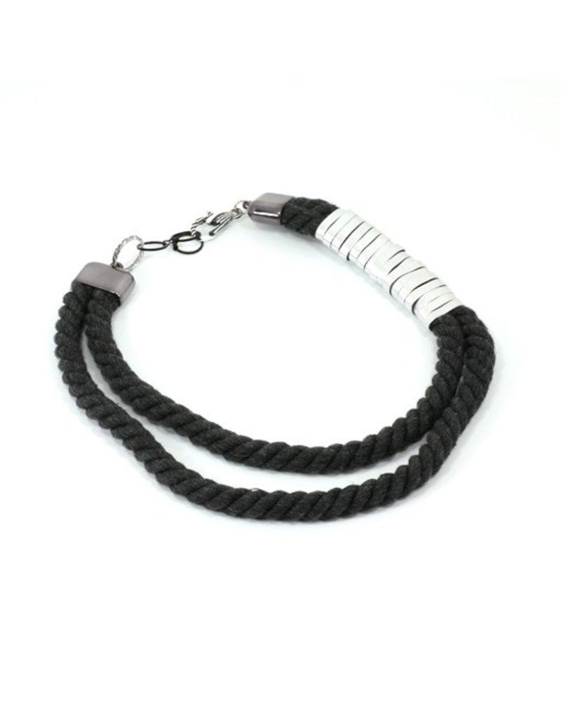 Christina Brampti Aluminium wrap cord N