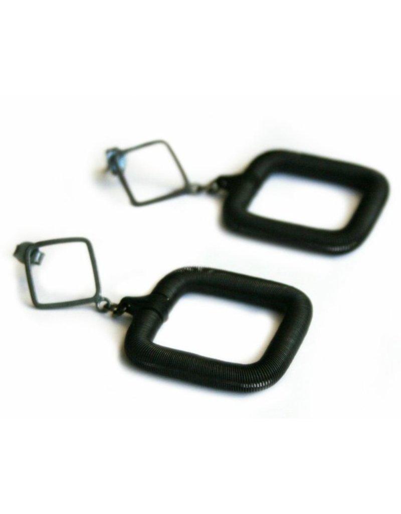 Industrial Jewellery SQUARE steel E