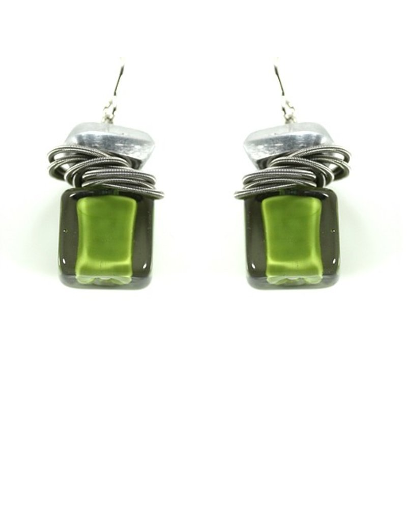 Jolly ZERO02/CB glass cube steel ring E