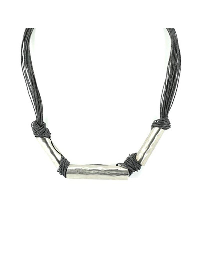 Carme Anglada Linen 3 wrap knot N